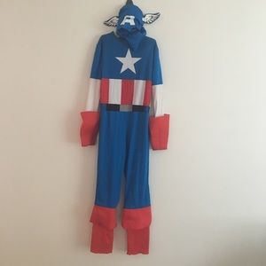 Disguise captain America size 7/8 costume